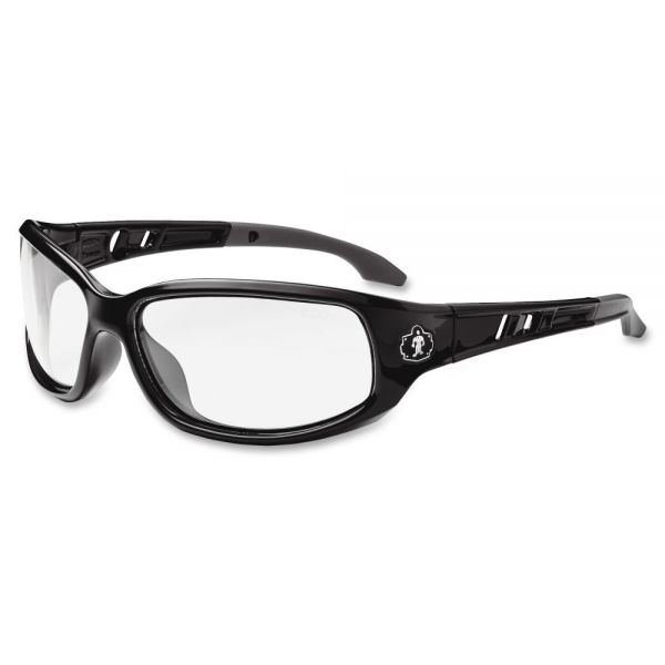 Ergodyne Valkyrie Fog-Off Clr Lens Safety Glasses