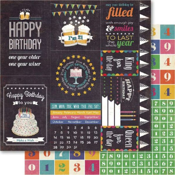 21st Double-Sided Cardstock