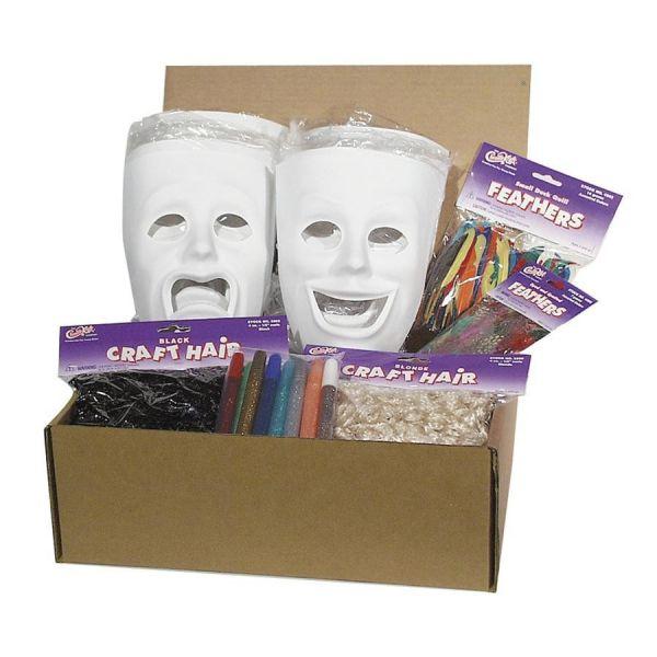 ChenilleKraft Plastic Masks Activities Kit