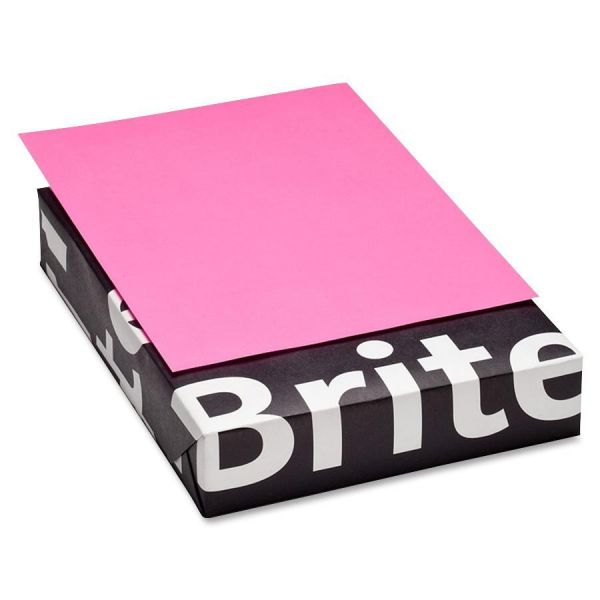Mohawk Brite-Hue Colored Paper - Ultra Fuchsia