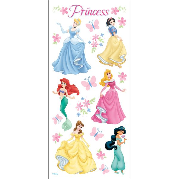Disney Stickers Packaged