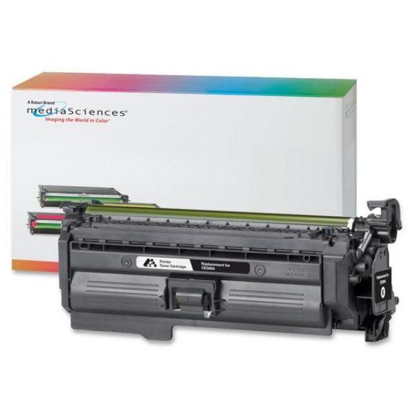 Media Sciences Remanufactured HP CE260A Black Toner Cartridge