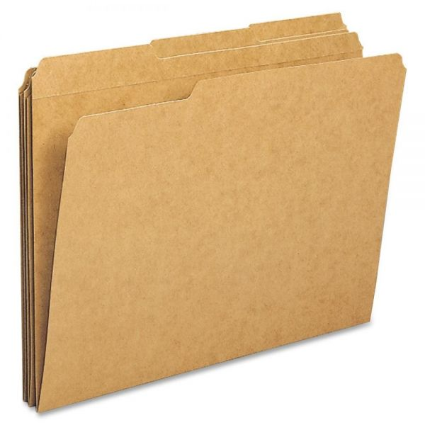 Sparco Kraft Colored File Folders