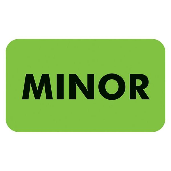 Tabbies MINOR Patient Information Label