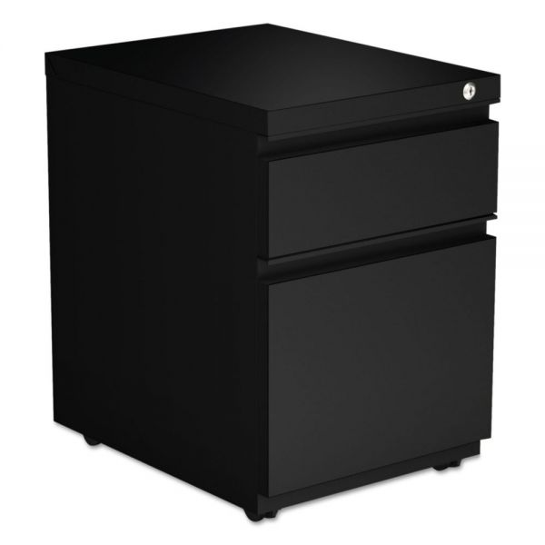 Alera Two-Drawer Metal Pedestal File With Full-Length Pull