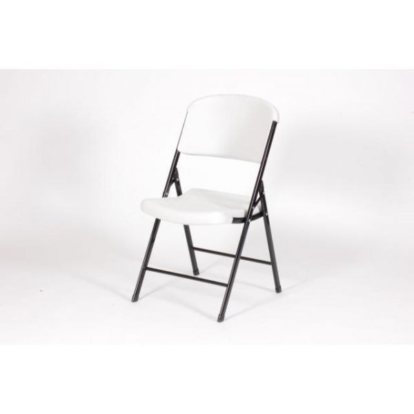 Correll Four Blow-Molded Folding Chairs
