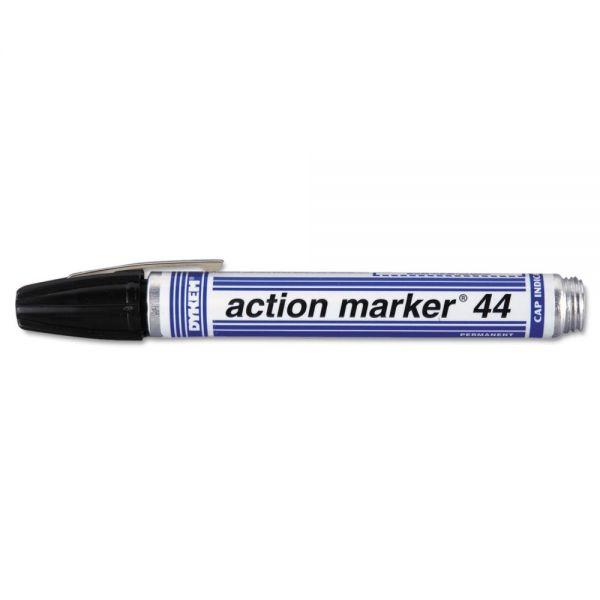 DYKEM Action Marker Dye-Based Black Permanent Marker