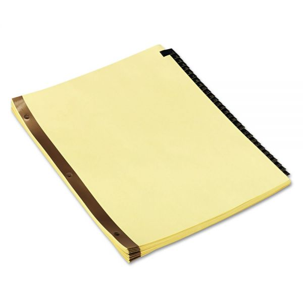 Universal One Leather-Look Numbered Tab Index Dividers