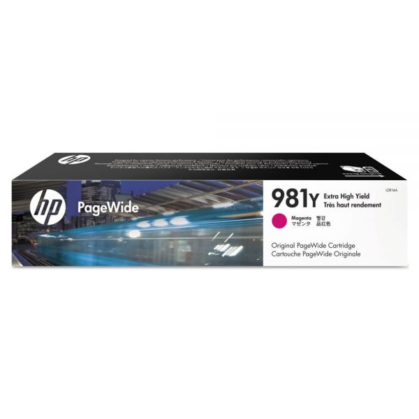 HP 981Y Magenta Extra High-Yield Ink Cartridge (L0R14A)