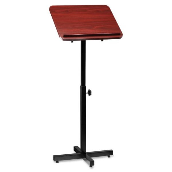 Lorell Tilt Platform Adjustable Floor Lectern