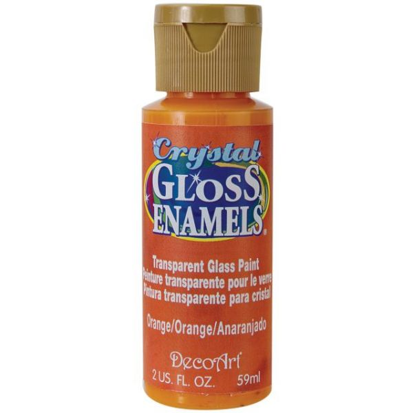 DecoArt Orange Crystal Gloss Enamels