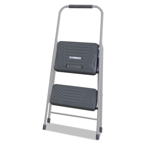 Louisville Black & Decker 2-Step Steel Step Stool