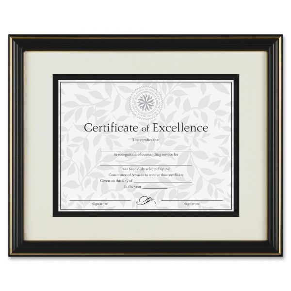 DAX Gold-Trimmed Picture/Certificate Frame
