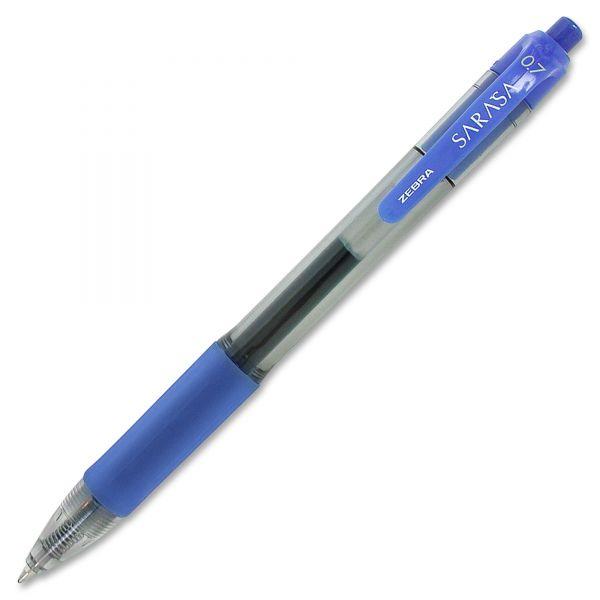 Zebra Sarasa Retractable Gel Pens