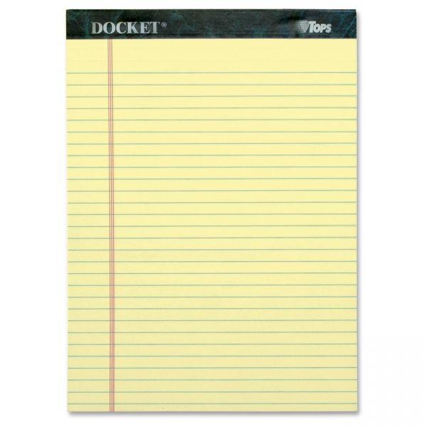 TOPS Docket Letter-Size Legal Pads