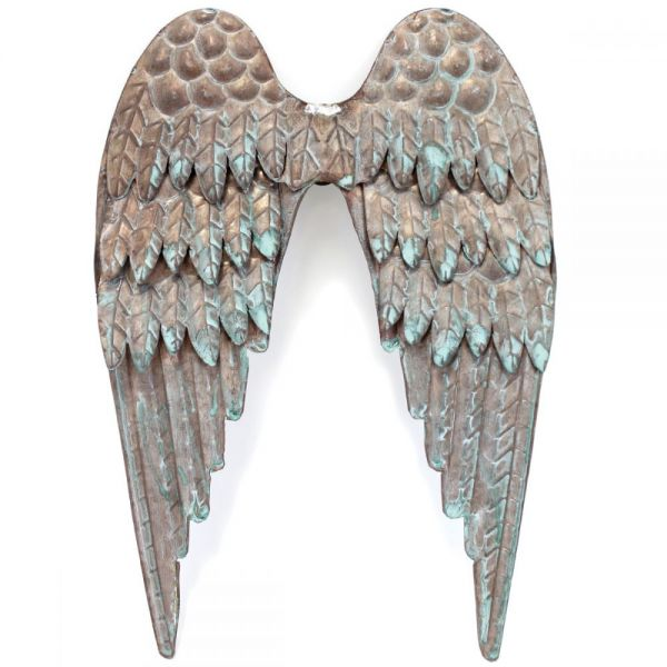 Salvaged Metal Angel's Wings