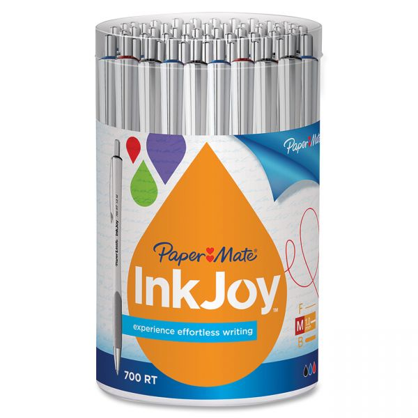 Paper Mate InkJoy 700RT Retractable Ballpoint Pens