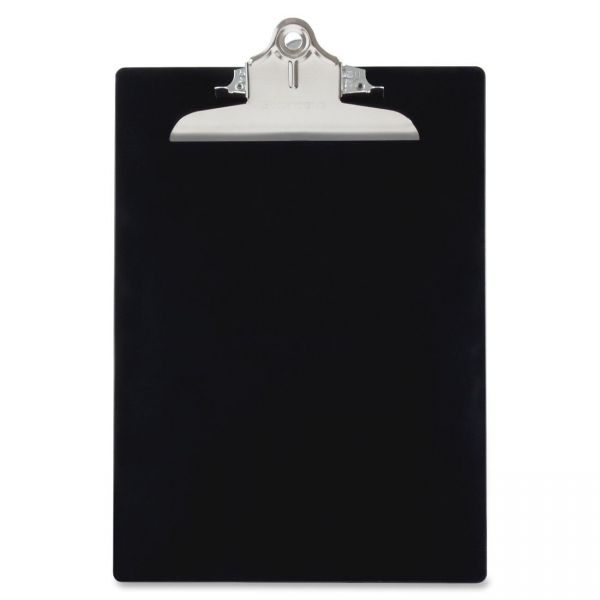 Saunders Recycled Black Plastic Clipboard