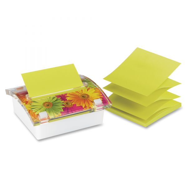 Post-it 3D Designer Dispensor With Pop-Up Note Pad