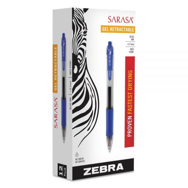 Zebra Pen Sarasa Gel Retractable Pens