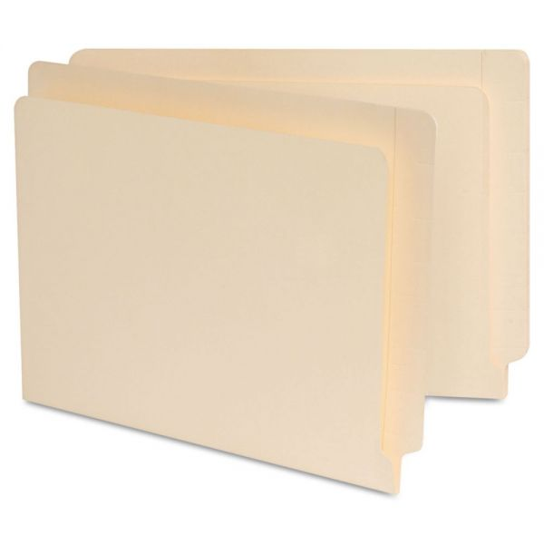 Universal Reinforced Letter Size End Tab File Folders