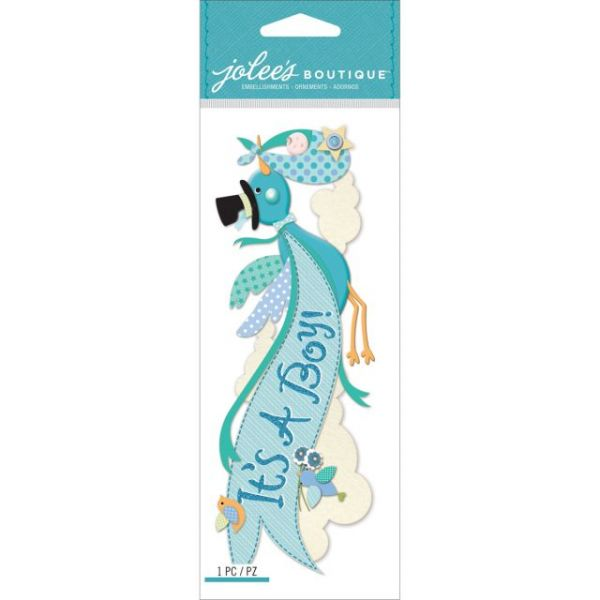 Jolee's Boutique Title Wave Dimensional Stickers
