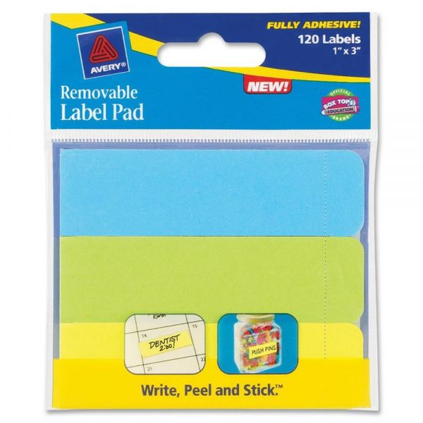 Avery Label Pad