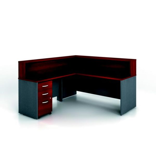 bbf Series C Reception Configuration - Hansen Cherry finish by Bush Furniture