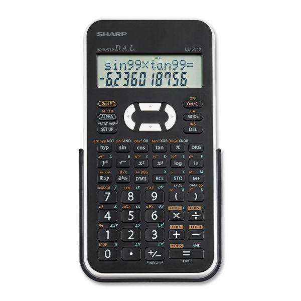 Sharp EL-531XBWH Scientific Calculator