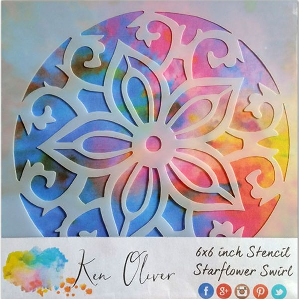 """Ken Oliver Stencil 6""""X6"""""""