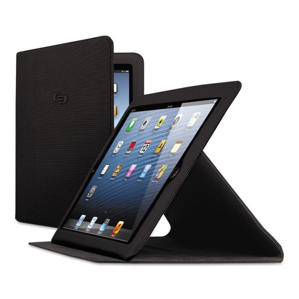 Solo Network Slim Case for iPad Air, Black