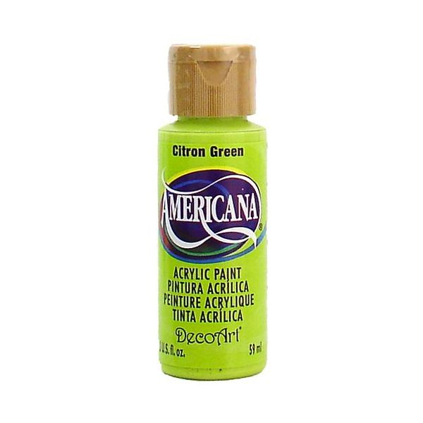 Deco Art Citron Green Americana Acrylic Paint
