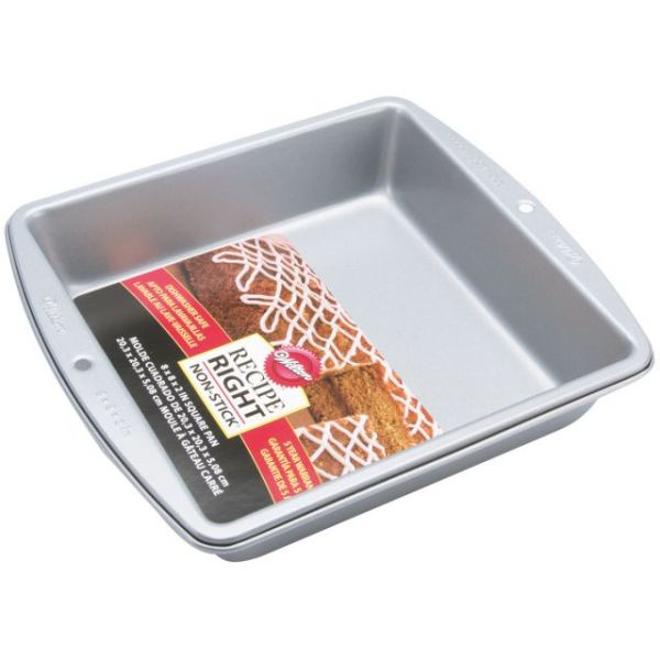 Wilton Recipe Right Square Cake Pan