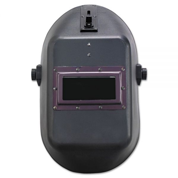 "Jackson Safety* HUNTSMAN W10 900 Series Welding Helmet, 4 1/4"" x 2"", Black"