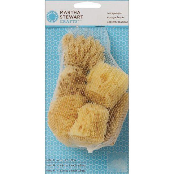 Martha Stewart Sea Sponge Cubes 6/Pkg