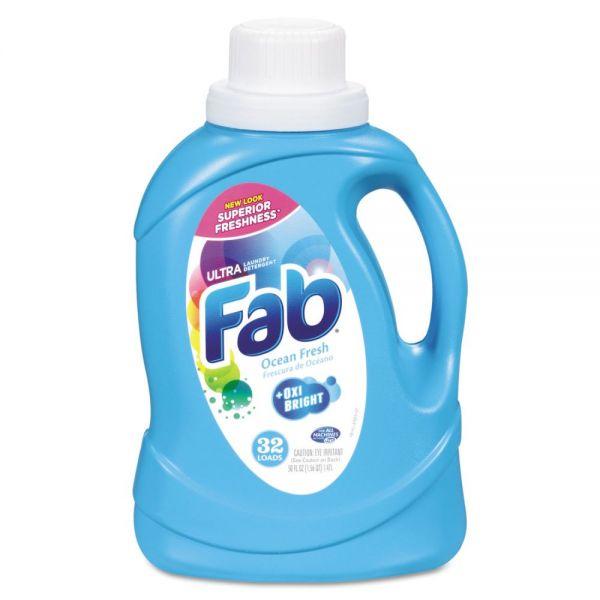 Fab Ultra 2X Liquid Laundry Detergent