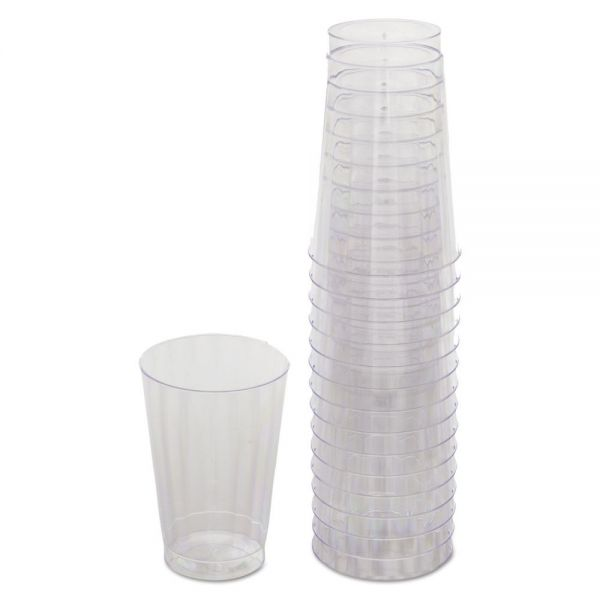 WNA Classicware Tumblers, 12 oz, Plastic, Clear, Tall, 16/Bag, 240/Carton