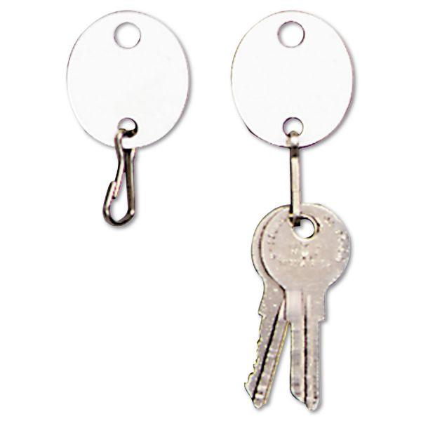 MMF Oval Plastic Key Tags