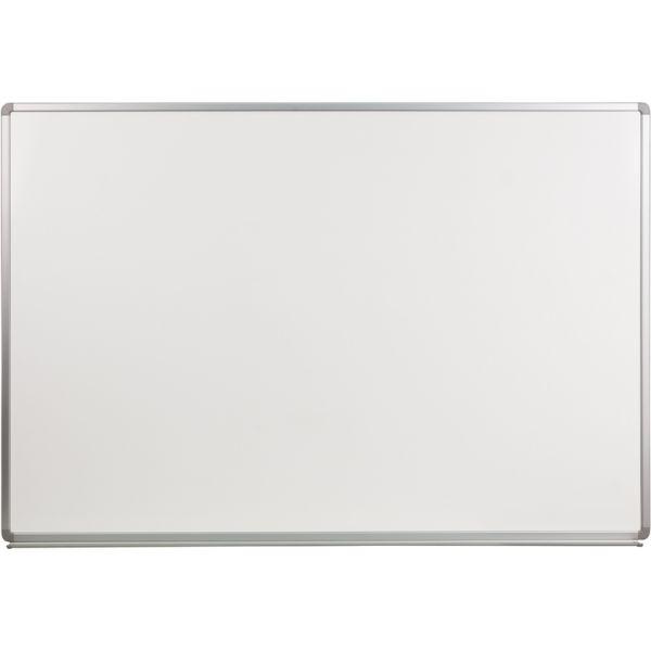 "Flash Furniture 72"" x 48"" Magnetic Porcelain Dry Erase Whiteboard"