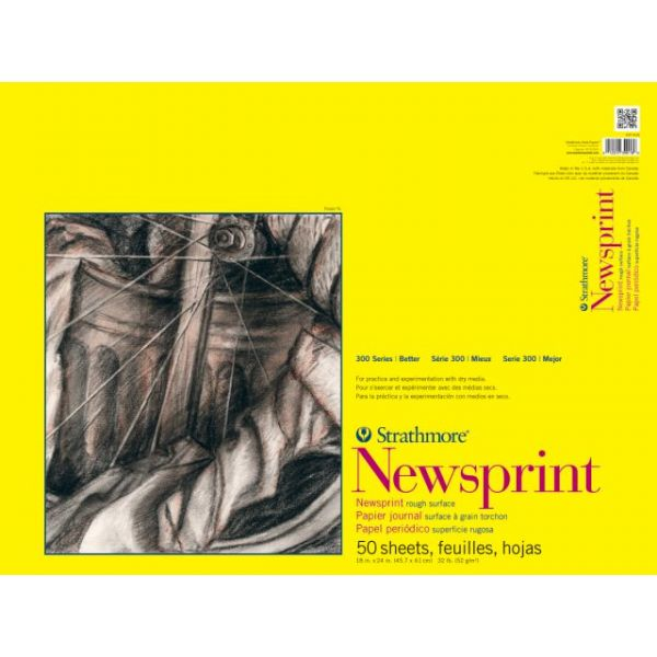 Strathmore Newsprint Paper Pad