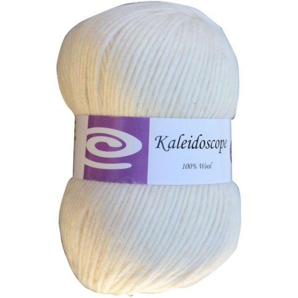 Elegant Kaleidoscope Yarn - Creamy White