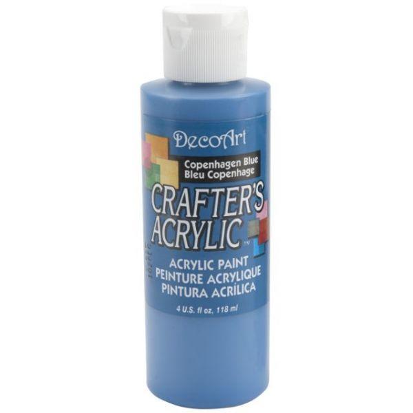 Deco Art Crafter's Acrylic Copenhagen Blue Acrylic Paint
