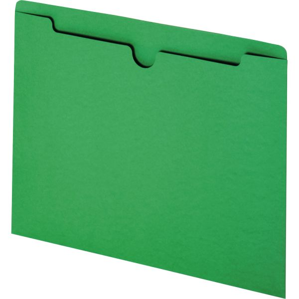Smead 75503 Green Colored File Jackets
