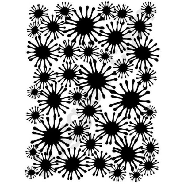 "Joggles Stencil 9""X12"""
