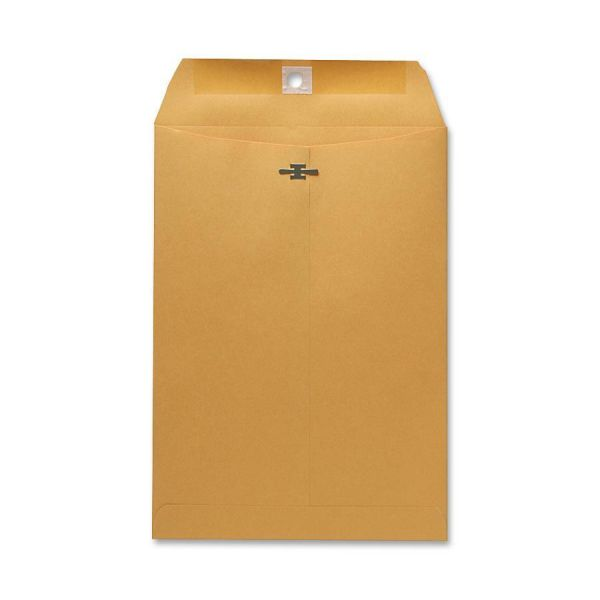 "Sparco Gummed 7 1/2"" x 10 1/2"" Clasp Envelopes"