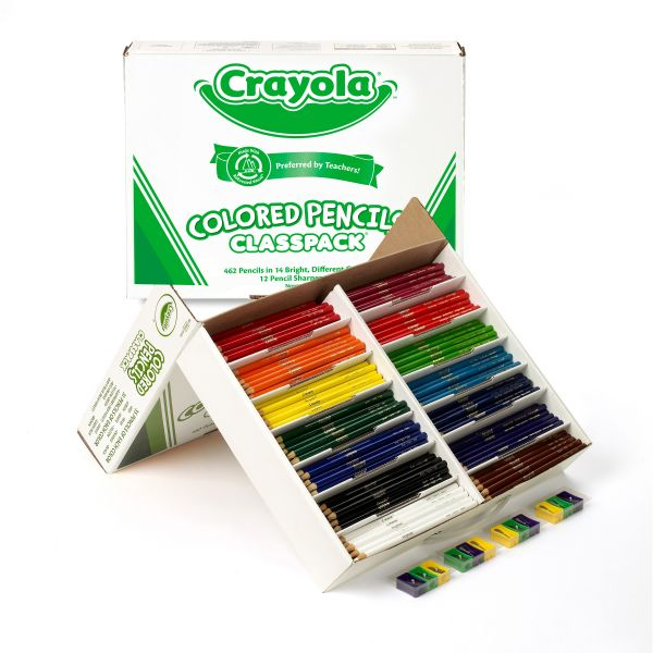 Crayola Classpack Colored Pencils