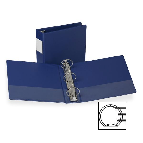"Samsill Antimicrobial Locking 4"" 3-Ring Binder"