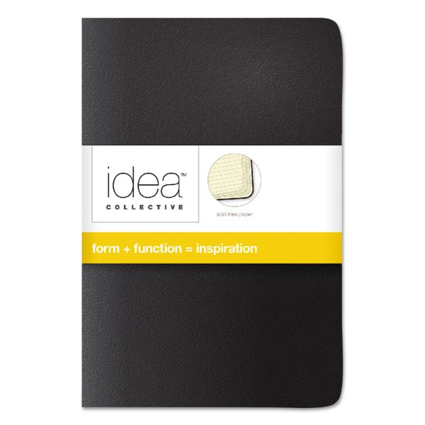 TOPS Idea Collective Journal, Soft Cover, Side, 5 1/2 x 3 1/2, Asst, 40 Sheets, 2/PK