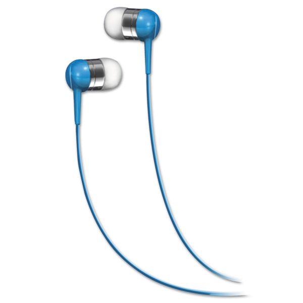 Maxell SEB In-Ear Buds, Blue