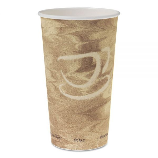 SOLO Cup Company Single Sided Poly Paper 20 oz Coffee Cups